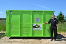 20 Yard Denver Dumpster Rental