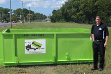 6 Yard Dumpster Rental Stone Oak TX